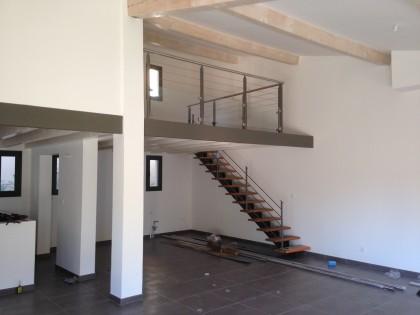 Escalier et garde-corps – villa à Solliès-Toucas