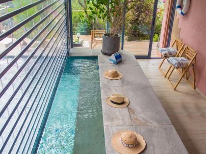 Rideau métallique transparent – villa à Carqueiranne