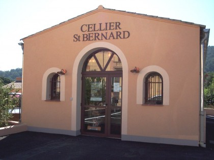 Entrée – Cellier St-Bernard – Flassans