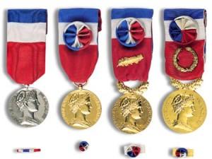 Remise des Médailles du Travail