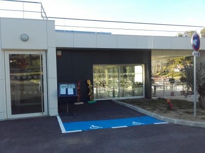 Portes Aluminium de l'Institut Médico Educatif de Salernes