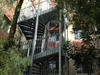 Escalier de Pole Emploi à Toulon